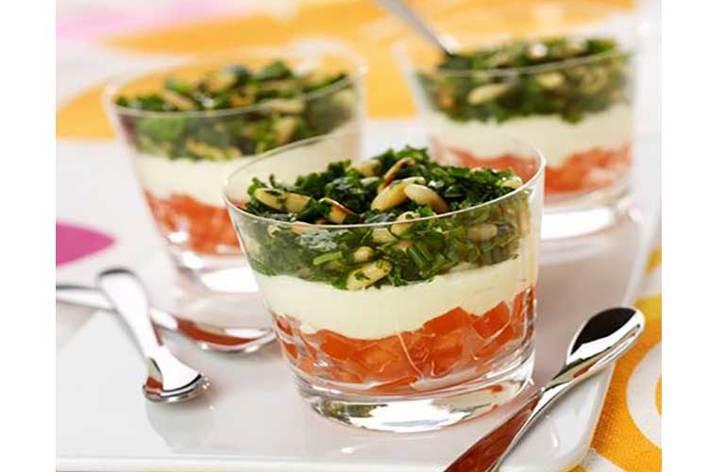 Menu sans cuisson (viande + légumes)