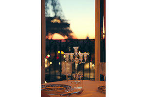 Cenas particulares como en su propia casa: The most special night in paris