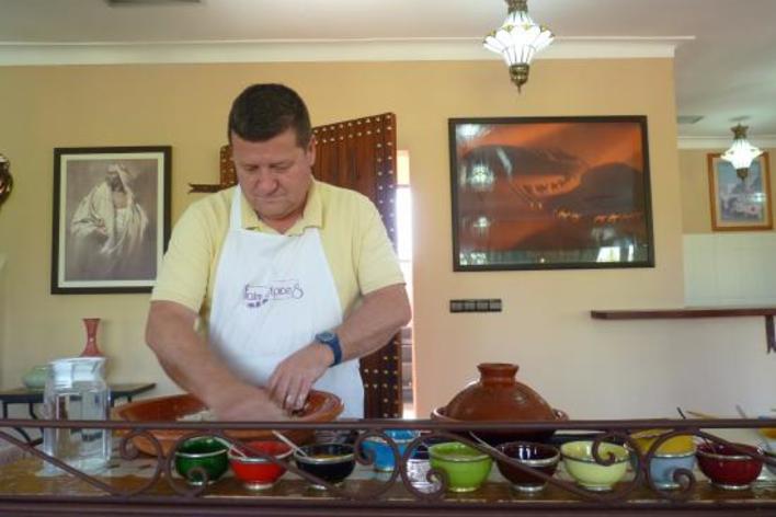 Cours de cuisine à la campagne