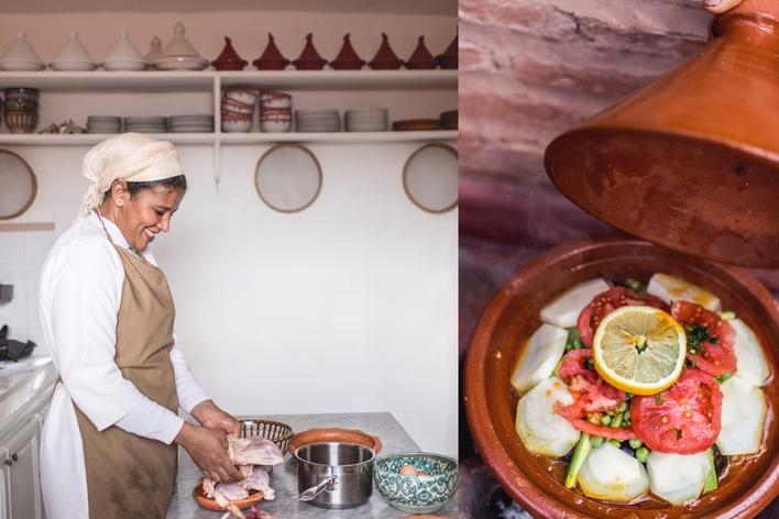 Moroccan cooking experience